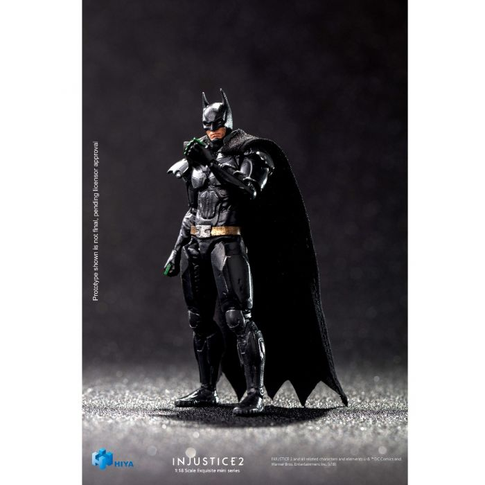 US Seller Hiya Toys 1//18th Scale Injustice 2 Batman Action Figure NEW!