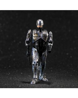 Hiya Toys ROBOCOP: Battle Damage ROBOCOP 1:18 Scale 4 Inch Acton Figure