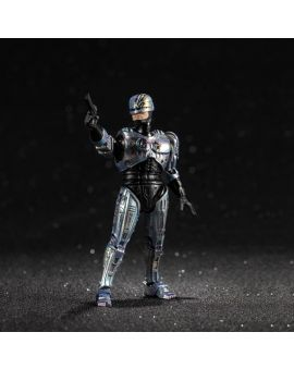 Hiya Toys ROBOCOP 2: Battle Damage ROBOCOP 1:18 Scale 4 Inch Acton Figure