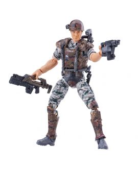 Hiya Toys Aliens Colonial Marine Hudson 1:18 Scale 4 Inch Acton Figure