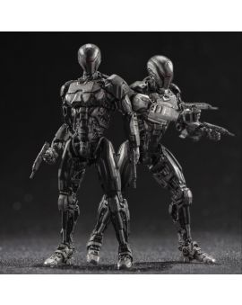 Hiya Toys ROBOCOP 2014:  EM208 TWO PACK 1:18 Scale 4 Inch Acton Figure