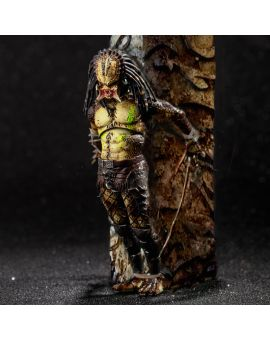 Hiya Toys Predators: Crucified Predator 1:18 Scale 4 Inch Acton Figure