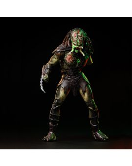 Hiya Toys Predators: Battle Damage Berserker 1:18 Scale 4 Inch Acton Figure